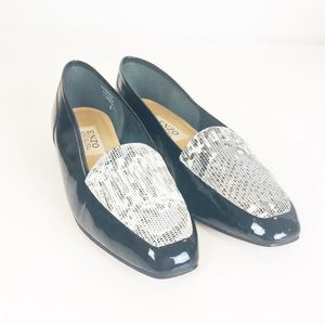 Enzo Angiolini Patent Leather Flats 9.5M
